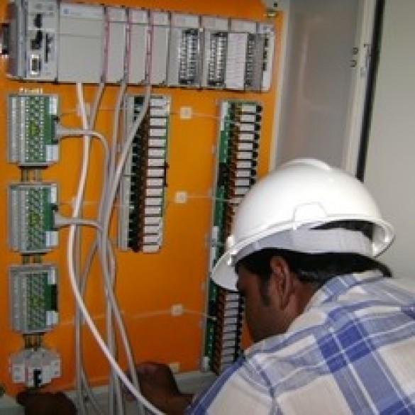 Safaniyya Gas Plant (ARAMCO) PLC system